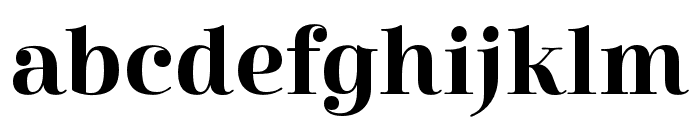 Cabrito Didone Ext Bold Font LOWERCASE