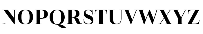 Cabrito Didone Norm Bold Font UPPERCASE