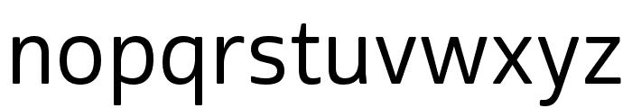 Cabrito Sans Ext Medium Font LOWERCASE