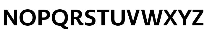 Cabrito Sans Norm Bold Font UPPERCASE