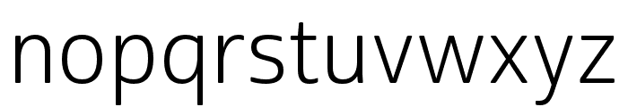 Cabrito Sans Norm Book Font LOWERCASE