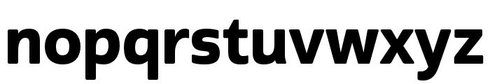 Cabrito Sans Norm ExBold Font LOWERCASE