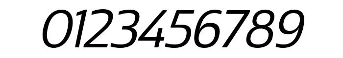 Cabrito Sans Norm Medium Ital Font OTHER CHARS