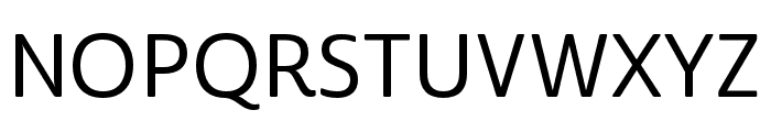 Cabrito Sans Norm Medium Font UPPERCASE