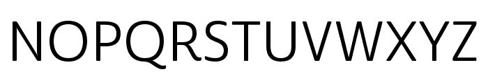 Cabrito Sans Norm Regular Font UPPERCASE