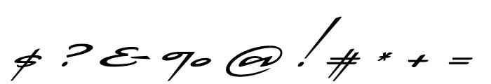 Cadogan Regular Font OTHER CHARS