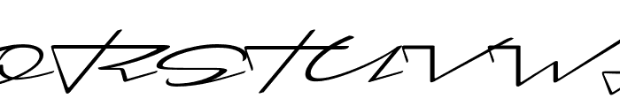 Cadogan Regular Font UPPERCASE