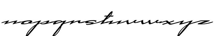 Cadogan Regular Font LOWERCASE