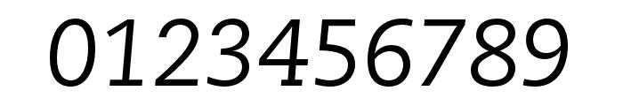 Caecilia LT Pro 56 Italic Font OTHER CHARS