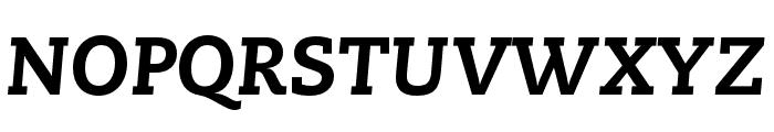 Caecilia LT Pro 86 Heavy Italic Font UPPERCASE