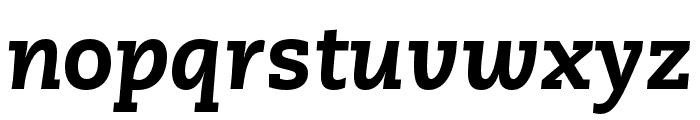 Caecilia LT Pro 86 Heavy Italic Font LOWERCASE