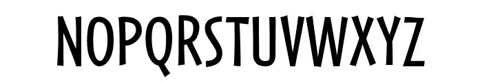 Cafeteria Regular Font UPPERCASE