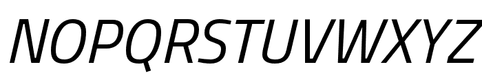 Cairo Italic Font UPPERCASE