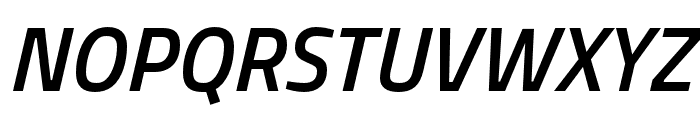 Cairo SemiBold Italic Font UPPERCASE