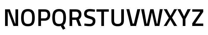 Cairo SemiBold Font UPPERCASE