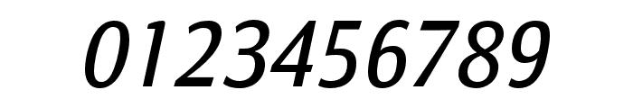 Calendula Italic Regular Font OTHER CHARS