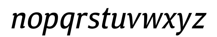 Calendula Italic Regular Font LOWERCASE