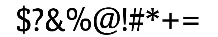 Calendula Regular Font OTHER CHARS