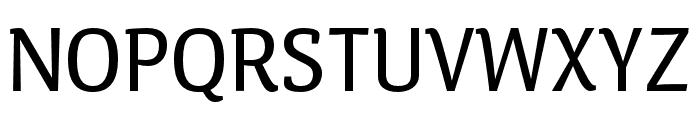 Calendula Regular Font UPPERCASE