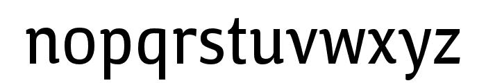 Calendula Regular Font LOWERCASE