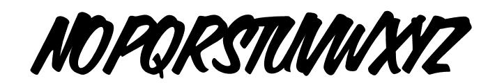 Calgary Script OT Regular Font UPPERCASE