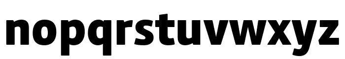 Calmetta XBold Font LOWERCASE