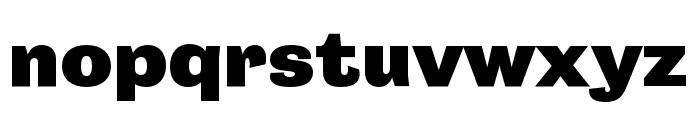 Campaign Black Font LOWERCASE