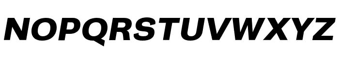 Campaign Bold Italic Font UPPERCASE
