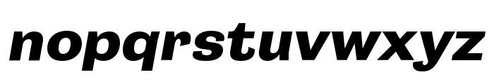 Campaign Bold Italic Font LOWERCASE