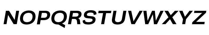 Campaign Medium Italic Font UPPERCASE