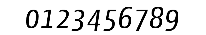 Cantiga Regular Italic Font OTHER CHARS