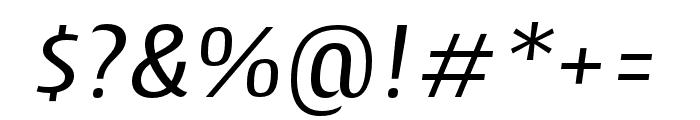 CantigaCnd Regular Italic Font OTHER CHARS