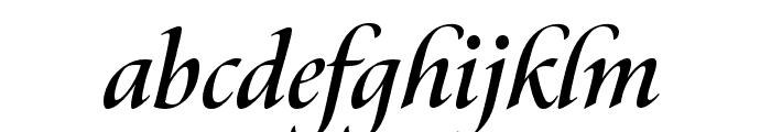 Canto Bold Italic Font LOWERCASE