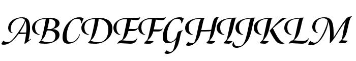Canto Brush Bold Italic Font UPPERCASE