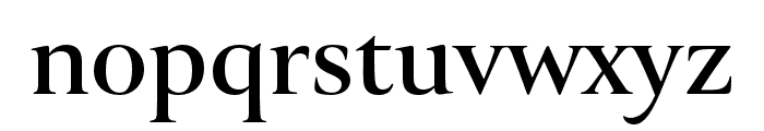 Canto Brush Open Bold Font LOWERCASE