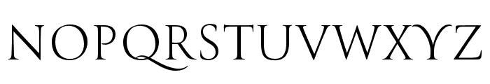 Canto Brush Open Light Font UPPERCASE