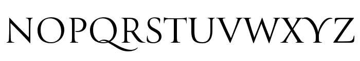 Canto Brush Open Roman Font UPPERCASE