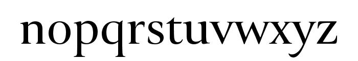 Canto Brush Semibold Font LOWERCASE