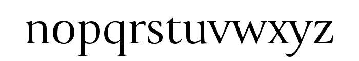 Canto Brush Font LOWERCASE