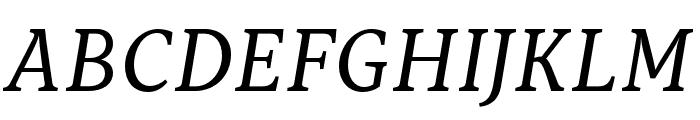 Capitolina Italic Font UPPERCASE