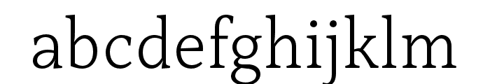 Capitolina Light Font LOWERCASE