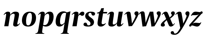 Capitolium2 Bold Italic Font LOWERCASE
