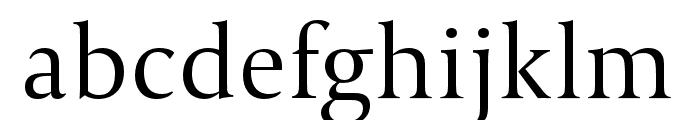 Capitolium2 Light Font LOWERCASE