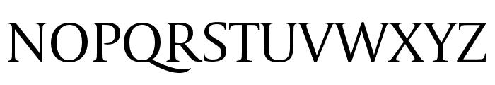 CapitoliumHead 2 Light Italic Font UPPERCASE