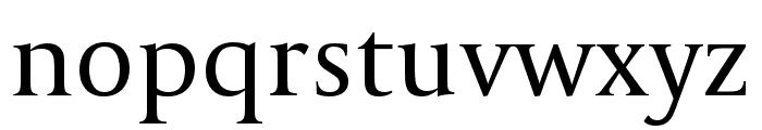CapitoliumHead 2 Regular Font LOWERCASE