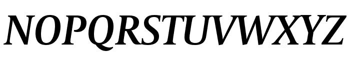 CapitoliumHead 2 SemiBold Italic Font UPPERCASE