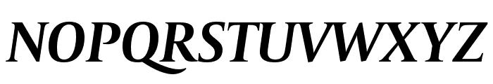 CapitoliumNews 2 Bold Italic Font UPPERCASE