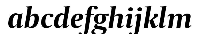 CapitoliumNews 2 Bold Italic Font LOWERCASE