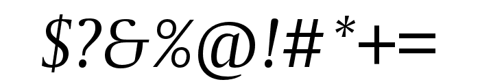 CapitoliumNews 2 Italic Font OTHER CHARS