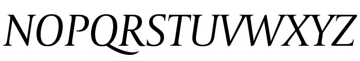 CapitoliumNews 2 Italic Font UPPERCASE